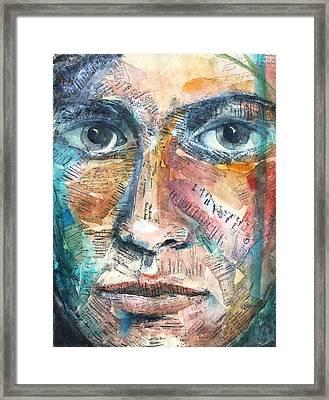 Listperson IIi Framed Print by Patricia Allingham Carlson