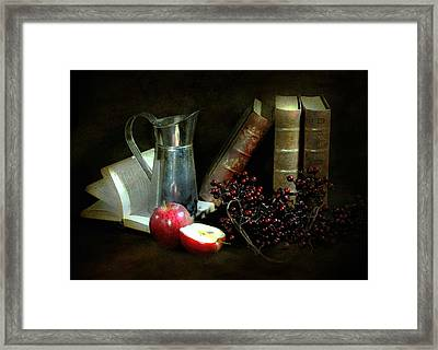 Literature Framed Print by Diana Angstadt