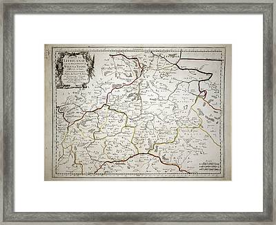 Lithuanie Framed Print by British Library