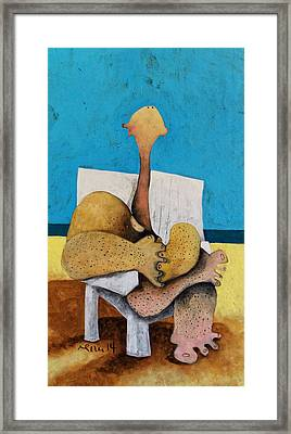 Litore No. 3  Framed Print by Mark M  Mellon