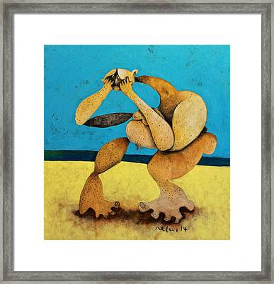 Litore No. 6 Framed Print by Mark M  Mellon