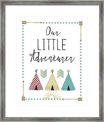 Little Adventurer Framed Print by Jo Moulton