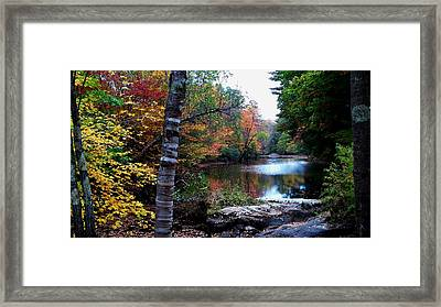 Little Androscoggin River Framed Print