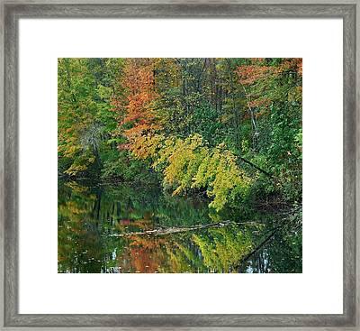 Little Androscoggin River, New Framed Print