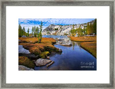 Little Annapurna Framed Print by Inge Johnsson