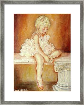 Little Ballerina Framed Print