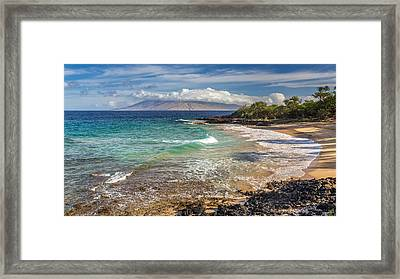Little Beach Maui Sunrise Framed Print