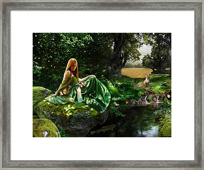 Little Big Framed Print by Bob Nolin