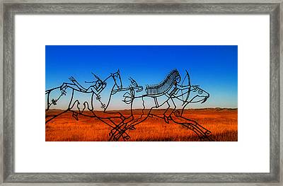 Little Big Horn Framed Print