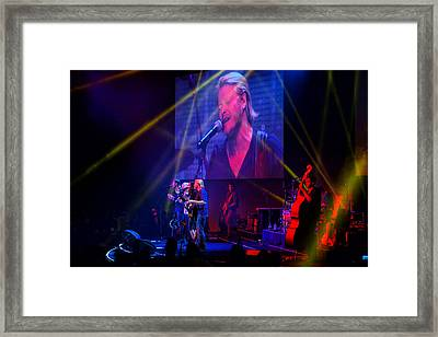 Framed Print featuring the photograph Little Big Town by Greg Norrell