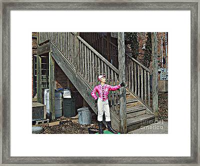 Little Bigfoot Framed Print by MJ Olsen
