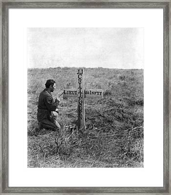 Little Bighorn Battlefield Framed Print by Granger