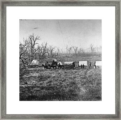 Little Bighorn, C1876 Framed Print