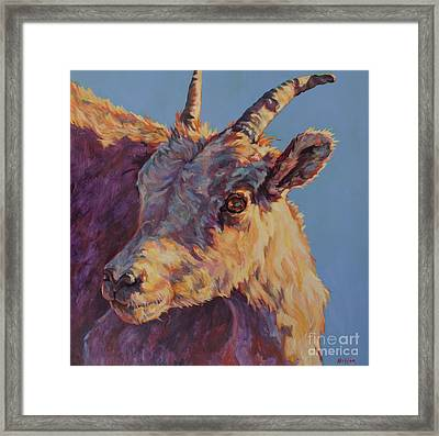 Little Bighorn Framed Print by Patricia A Griffin