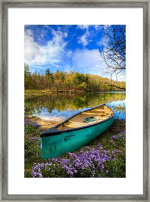 Little Bit Of Heaven Framed Print by Debra and Dave Vanderlaan