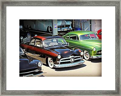 Little Brown Shoebox Framed Print