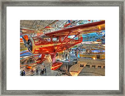 Framed Print featuring the photograph Little Butch by Michael Donahue