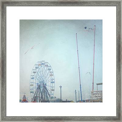 Little Carnival Town Framed Print by Sharon Coty