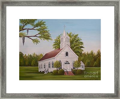 Little Chapel Framed Print