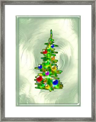 Little Christmas Tree Framed Print
