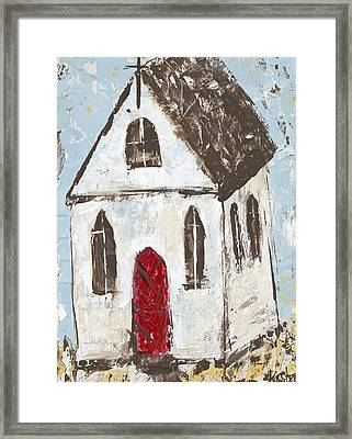 Little Church Framed Print