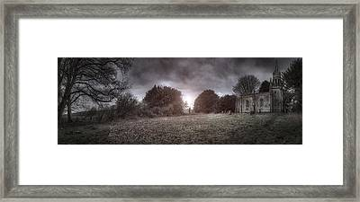 Little Church On The Hill Framed Print by Jason Green
