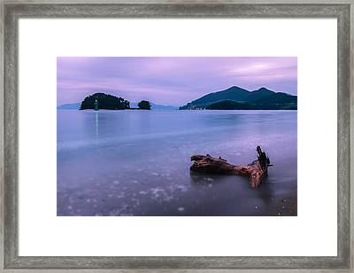 Little Corner By The Sea Framed Print