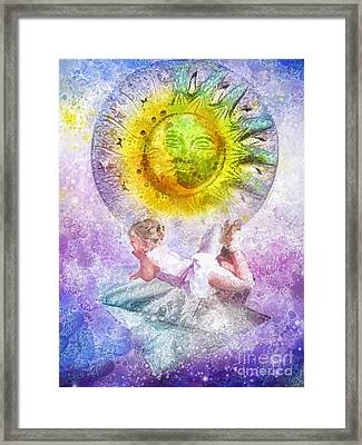 Little Dancer Framed Print by Mo T