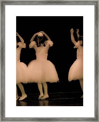 Little Dancers Framed Print by Christie Kowalski