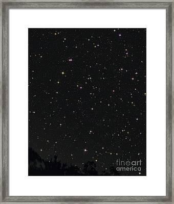 Little Dipper Or Ursa Minor Framed Print by John Chumack