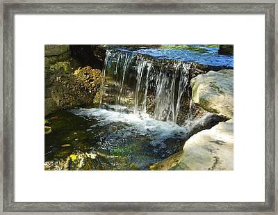 Little Falls 3 Framed Print by Charlie Brock