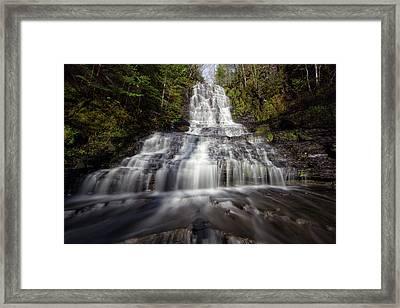 Little Falls Framed Print by Jakub Sisak