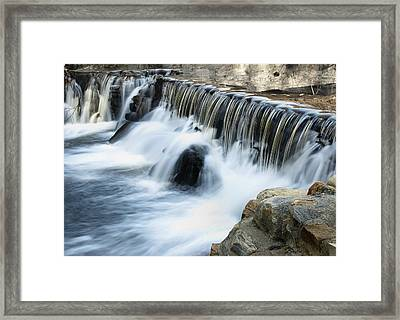 Framed Print featuring the photograph Little Falls by Raymond Earley