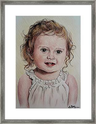 Little Girl Framed Print by Andrew Read