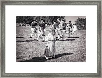 Little Girl Framed Print