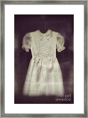 Little Girl Lost Framed Print by Trish Mistric