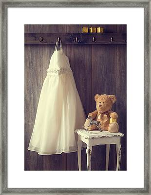 Little Girls Bedroom Framed Print by Amanda Elwell