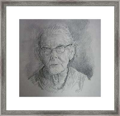 Little Granny Smith Framed Print