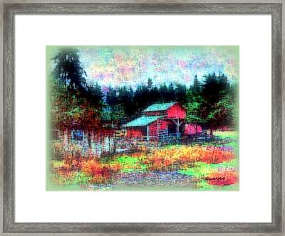 Little Heaven Framed Print