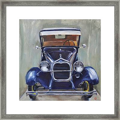Framed Print featuring the painting Little Henry by Lindsay Frost