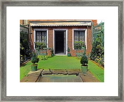Little House Framed Print by Terry Reynoldson