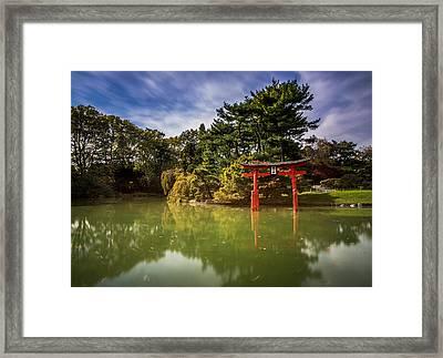 Little Japan Framed Print by Johnny Lam