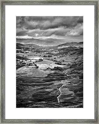 Little Langdale Tarn Framed Print by Alexis Birkill