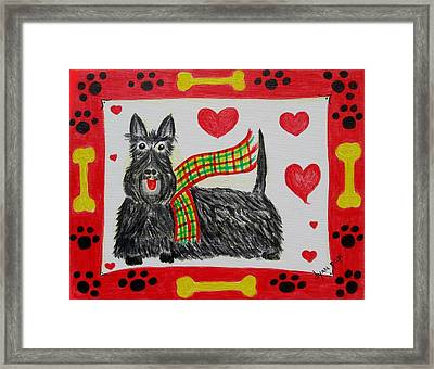 Little Lassie Framed Print by Diane Pape