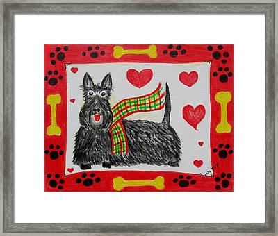 Little Lassie Framed Print