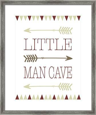 Little Man Cave Framed Print by Tara Moss