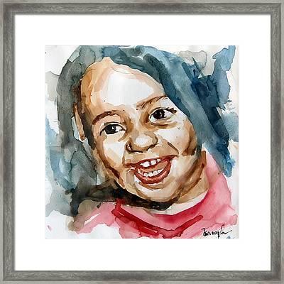 Little Maria Framed Print by Michael Tsinoglou