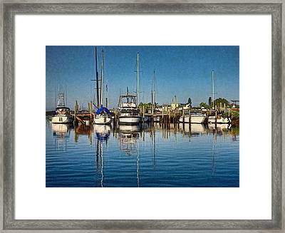 Little Marina Framed Print