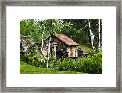 Little Mill Eastern State College Framed Print by Bill Cannon