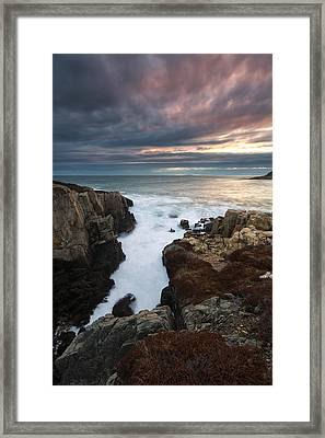 Framed Print featuring the photograph Little Moose Island  by Patrick Downey